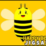 Happy Bees Jigsaw
